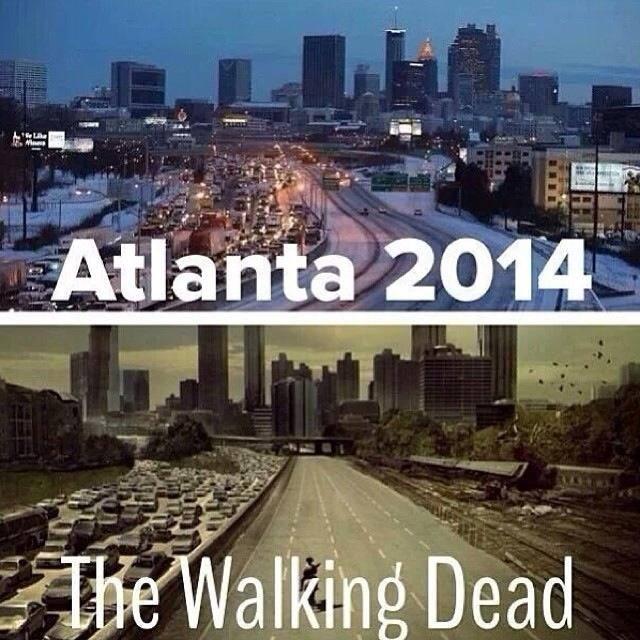 Snowpocalypse Atlanta