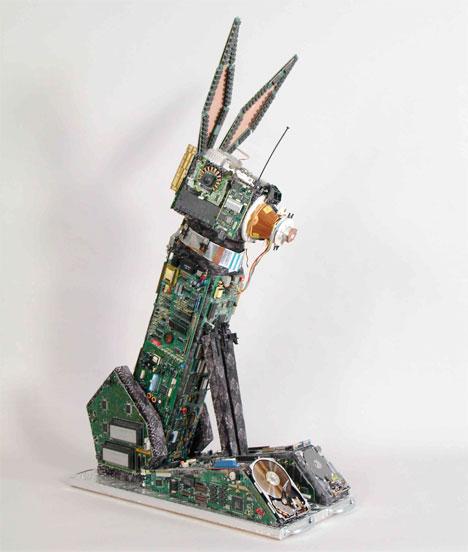 planit hardware, brenda guyton, e-waste, sculpture, treehugger, it asset, it disposal, it consignment